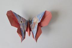 origami -  farfalla 6 (leti.zacca) Tags: origami figure gioco carta piegare giappone paper cina pieghe passatempo hobby farfalla butterfly origamiart animals flower scacciapensiero japan segnaposto fantasia fantasy color howtomake comofazer simbolo simbols art arte paperart hademade