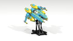 F10 Starfox (CK-MCMLXXXI) Tags: lego moc starfighter starfox spaceship space