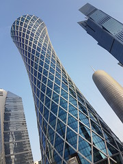 Towers Pt. 6 (a.zphotography) Tags: doha qatar s7 edge samsung takenwithgalaxy streets car holiday street asia sky building azphotography az photography phone mobile architect design