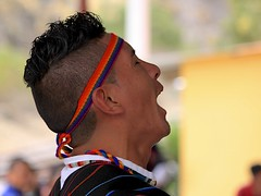 Dance Performance (oxfordblues84) Tags: ecuador oat overseasadventuretravel devilsnosetrain narizdeldiablo dancers danceperformance andes andesmountains sibambestationplaza sibambestation trenecuador dancersatsibambestation folkdancersatsibambestation ecuadorianfolkdancers ecuadorianman guy men maledancer male devilsnosetrainjourney entertainment