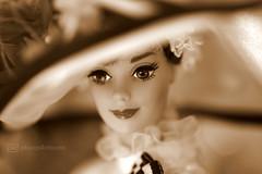 my fair lady - portrait (photos4dreams) Tags: barbie doll photos4dreams p4d photos4dreamz toy puppe movie film makeup gown dress kleid abendkleid ballkleid ball collectors collector myfairlady audreyhepburn hut schirm hat umbrella sonnenschirm