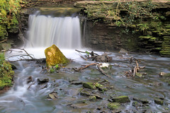 Snuff Mills waterfall (John (thank you >1 million views)) Tags: 7dwf crazytuesdaytheme slowexposure snuffmills waterfall landscapephotography earlymorning rocks dreamy emotion bristol southwestengland