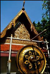 Bangkok (makingacross) Tags: nikon d3000 bangkok thailand asia wat saket temple golden mount gong