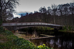 Bridging The Gap (Brian Travelling) Tags: bridge footbridge loch lochearn river riverearn stirlingshire