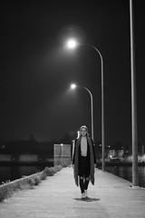 5479 (Lau Piñeiro) Tags: panoramica panorámica blancoynegro blanco negro blackandwhite black white farolas modelo sombra puerto galicia camino pontevedra luces light luz luminosidad