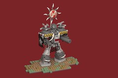 Dies Irae (pasukaru76) Tags: canon100mm wh40k warhammer40000 chaos titan imperatorclass diesirae microscale traitorlegions legiomortis moc