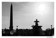 Place de la Concorde (@S.fabiola) Tags: parigi controluce backlight