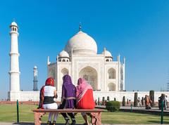 Taj Mahal , AGRA, INDIA    DSC05459 (mariomath) Tags: india inde taj mahal agramoghol mumtaz yamuna makrana merveille akbar shah jahan voyagearabais tajmahal 7merveillesdumonde mumtazmahal shahjahan