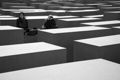 Significance (maxjomoore1993) Tags: berlin holocaust memorial special monochrome black white bw sony alpha a7 framing composition minimalist cntrast light shadow perspective people meditate breathe