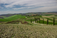 Asciano (jazz_0902) Tags: aciano tuscan tuscany trees toscana travel thestreet italy clouds countryside campaign cipressi cloud sky skyline street strada colors blue nature natura nuvole road cypress holiday