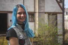 _MG_3350 (LennyW) Tags: urbex france girl blue hair city canon 5d 5 d mark 2 ii mk2 mkii 2880 28 80 f3556 f35 35 f56 56 usm electric model digital eos
