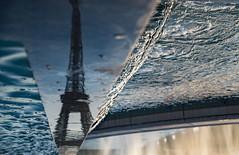 Drops (julialarrigue) Tags: paris water drops light eiffeltower france
