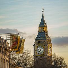 Long view to Big Ben (grahamvphoto) Tags: bigben clock time london city architecture england tourism