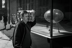 beer o'clock! (jrockar) Tags: street streetphotography streetphoto candid decisive moment instant snap bw mono blackndwhite beer cans man people human london beeroclock ordinary madness ordinarymadness jrockar janrockar idiot x100f fuji holyf
