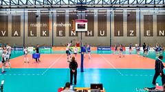 2017-04-08 EK U18 Ned - Slo (12a) (Peter Donderwinkel) Tags: ekmeisjesu18 nederland teamholland slovenië valkenhuizenarnhem papendal volleybal volleyball sportphotography teamsport indoor ek canon nevobo volleybalnl oranje