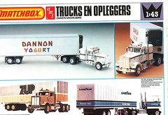 Matchbox AMT Kit Catalogue 1979/80 (Nobo Sprits) Tags: matchbox kit catalogue 197980 1979 1980 dannon yogurt danone 7up 7 up goodyear kenworth truck fruehauf trailers trailer peterbilt amt catalogus katalog