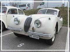 Jaguar XK 120 Fixed Head Coupé (v8dub) Tags: jaguar x k 120 schweiz suisse switzerland fribourg freiburg otm british pkw voiture car wagen worldcars auto automobile automotive old oldtimer oldcar klassik classic collector