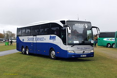 CDL3050 BN17 JFA ECL (Fransang) Tags: bn17jfa edinburgh coach linews leger silver service tourismo mercedesbenz