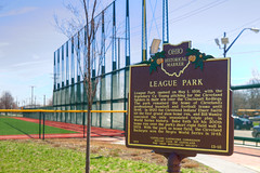 League Park 2017.04.08.11.19.13 (Jeff®) Tags: jeff® j3ffr3y copyright©byjeffreytaipale littleleague baseball sports highschool cleveland clevelandohio ohio ohiopark outside outdoors park historical americanhistory
