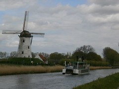 Bruges (2012) (alexismarija) Tags: bruges brugge belgium europe architecture history damme flanders cycling biking river boat windmill countryside