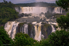 The Majestic Iguazu Falls (Margarita Genkova) Tags: iguazufalls brazil majestic water outdoor magnificent nature landscape trees frame