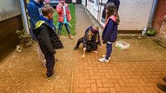 """...und hier mal """"blinde Kuh"""" (schinzel.hansjrgen) Tags: kinder spiel kindergeburtstag feier dorfspiele altmark"""