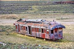 McRea Idaho (Pattys-photos) Tags: neglected decayed abandoned broken ramshackle dilapidated derelict fallingdown boxcar mcrea idaho pattypickett4748gmailcom pattypickett