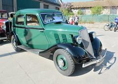 Renault, Celtaquatre type ZR1 (France, 1934) (Cletus Awreetus) Tags: voitureancienne automobile car vintage voituredecollection france renault celtaquatre voiture collection vert
