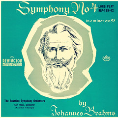 Brahms Symphony 4 - Woss Remington 1 (sacqueboutier) Tags: vintage vinyl vinyllover vinylcollection vinylnation vinylcollector lp lplover lps lpcollection lpcover lpcollector lpcoverart records record discs classical classicalmusic music remington