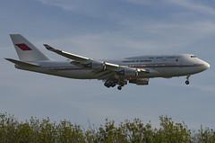 A9C-HAK / Boeing 747-4F6 / 28961/1174 / Bahrain Royal Flight (A.J. Carroll (Thanks for 1 million views!)) Tags: a9chak boeing 7474f6 747400 747 744 289611174 cf680c2b1f bahrainroyalflight 894082 london heathrow lhr egll 27r
