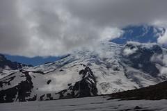 Rainier from Burroughs Mountain (Sean Munson) Tags: burroughsmountain hiking mountrainier mountrainiernationalpark nationalpark rainier thirdburroughs washington glacier
