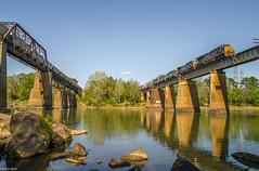 (i nikon) Tags: csx congaree river bridge columbia sc