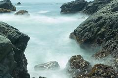 Nd .9 (Andrés Pozos Meave) Tags: rocas waves mar olas méxico nikond750 ixtapa vacaciones nikon sea densidadneutra seda bruma