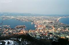 Mount Hakodate ([M!chael]) Tags: nikon f3hp nikkor 2835 ais kodak ultramax400 japan hakodate film manual night