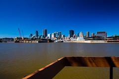 MONTRÉAL FRISQUET (BLEUnord) Tags: montréal centreville downtown fleuve river stlaurent stlawrence printemps spring gratteciel skyline observation