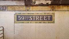 New York Subway (the.lost.traveller) Tags: newyorkcity nyc bigapple usa newyork ny newyorksubway subway 59thstreet subwaystation