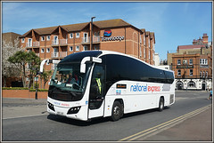 Take the National Express, when your life's in a mess..... (Jason 87030) Tags: coach nationalexpress volvo ramsgate royalparade holiday vehicle transport natex kent uk england divinecomedy 2017 sony shot plaxton 53706 elite thanet ae10jsz
