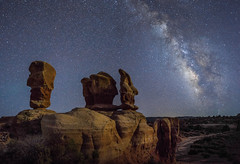 Formations (Night Scapes) Tags: steverengers milkyway nightsky nightphotography moab utah devilsgarden