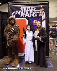 DSC_4604 (slamto) Tags: swco starwars cosplay celebration orlando wookie chewbacca princessleia padme jedi quigonjinn