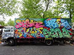Frez et al. sur graffiti van (2017) (Archi & Philou) Tags: frez graffitivan camion van graffiti paris13 inconnu unknown