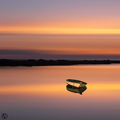 The dream of a boat... (Grégory Dolivet) Tags: sunset sun boat sea seascape light ocean dream