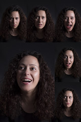 Fotomaton de emociones (Señales 10) (Raquel SG) Tags: selfportrait retrato portrait inandout delreves alegria pena tristeza enfado ira sorpresa inseguridad duda sadness joy pain insecurity doubt anger rabia rage surprise asombro astonishment