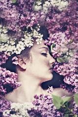 ... (riazajacova) Tags: beauty woman flower emotions fragile light love soul melancholy magic colours poetic portrait people spirit photo