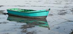 green boat reflection (Rudy Pilarski) Tags: nikon thebestoffnikon tamron 2470 boat bateaux reflection reflet green vert sea mer ocean seascape golf du morbihan bretagne france barque