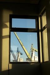 Procédure d'approche #4 (GillesB) Tags: nantes quai 10ans fantome ghost disparu oublié forgotten grues cranes wilson mohr hab hangar