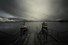 Heavy Weather (liebeslakritze) Tags: dreckswetter calm windstille heavyweather ostsee friedrichsort kiel anleger jetty