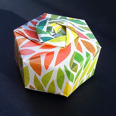 Hexagonal Box (modular.dodecahedron) Tags: origamibox tomokofuse
