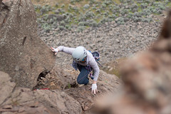 Coming up on choss (johnwporter) Tags: climbing cragclimbing rockclimbing sportclimbing easternwashington centralwashington washington desert frenchmancoulee coulee 攀登 攀岩 峭壁攀登 運動攀登 華盛頓東部 華盛頓中部 華盛頓州 荒漠 法蘭區深谷 深谷 atx116prodx tokinaaf1116mmf28 wideangle wideanglelens 廣角 廣角鏡 iceagefloods 冰河時期洪水
