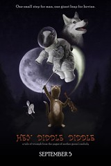 Hey Diddle Diddle (Thomas Gehrke) Tags: cat cow moon dish spoon dog mother goose mothergoose nurseryrhyme movie poster digitalpainting