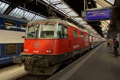 SBB 420221. (Sparkies photos) Tags: sbb cff ffs 420 420221 electric lok zurich hb